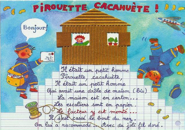 chanson pirouette cacahuète